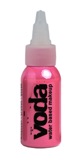 European Body Art | VODA (VIBE) Water Based Airbrush Body Paint  - Standard Pink  - 1oz