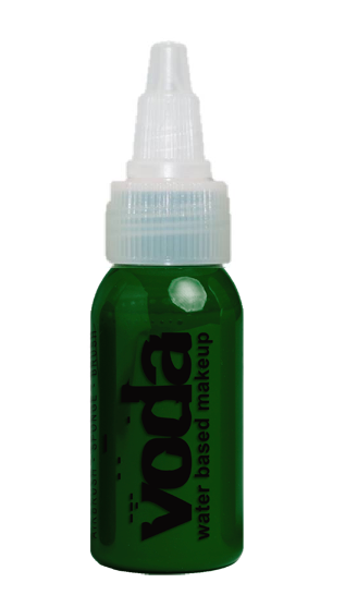 European Body Art | VODA (VIBE) Water Based Airbrush Body Paint - Standard Green - 1oz - Jest Paint Store