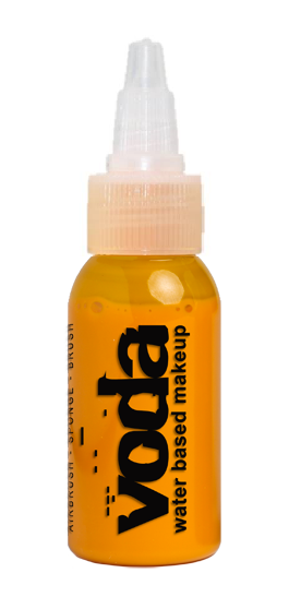 European Body Art | VODA (VIBE)  Water Based Airbrush Body Paint - Standard Yellow - 1oz - Jest Paint Store