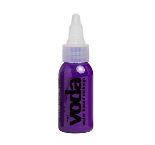 European Body Art | VODA (VIBE) Water Based Airbrush Body Paint  - Standard Purple  - 1oz - Jest Paint Store