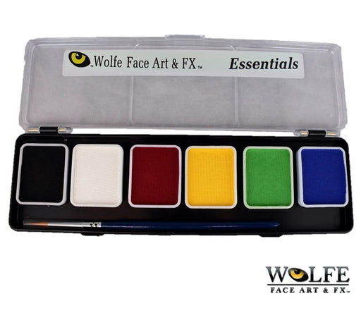 Wolfe FX Face Paint - Small 6 Color Essential Palette - Jest Paint Store