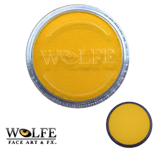 Wolfe FX Face Paint - Essential Yellow 30gr (050) - Jest Paint Store