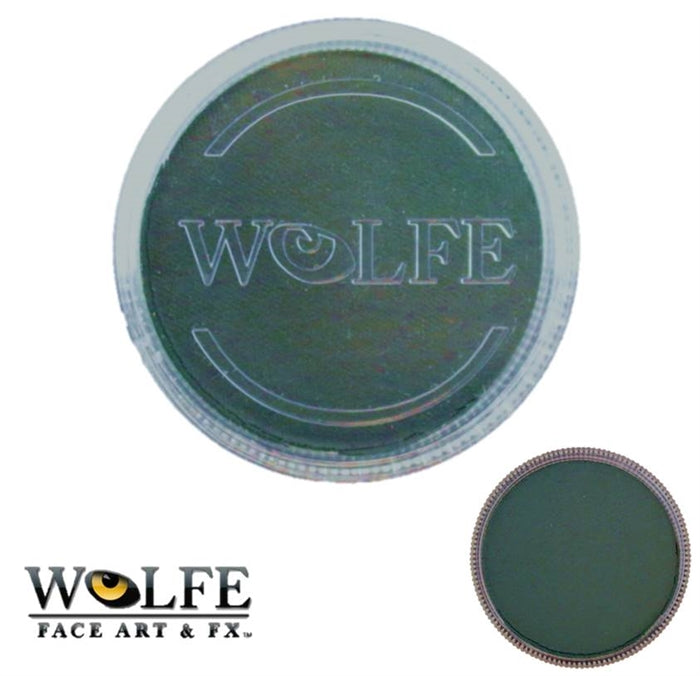 Wolfe FX Face Paint - Essential Dark Green 30gr (062) - Jest Paint Store