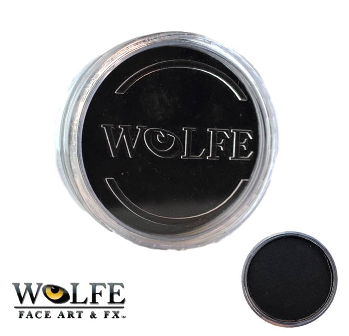 Wolfe FX Face Paint - Essential  Black 45gr (010) - Jest Paint Store