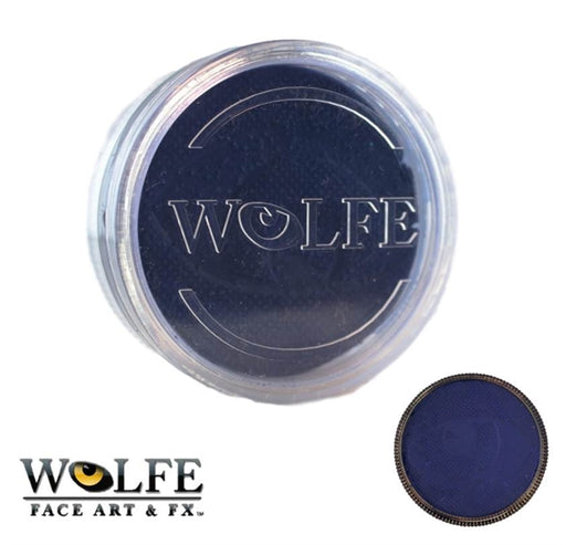 Wolfe FX Face Paint - Essential  Dark Blue 45gr (068) - Jest Paint Store