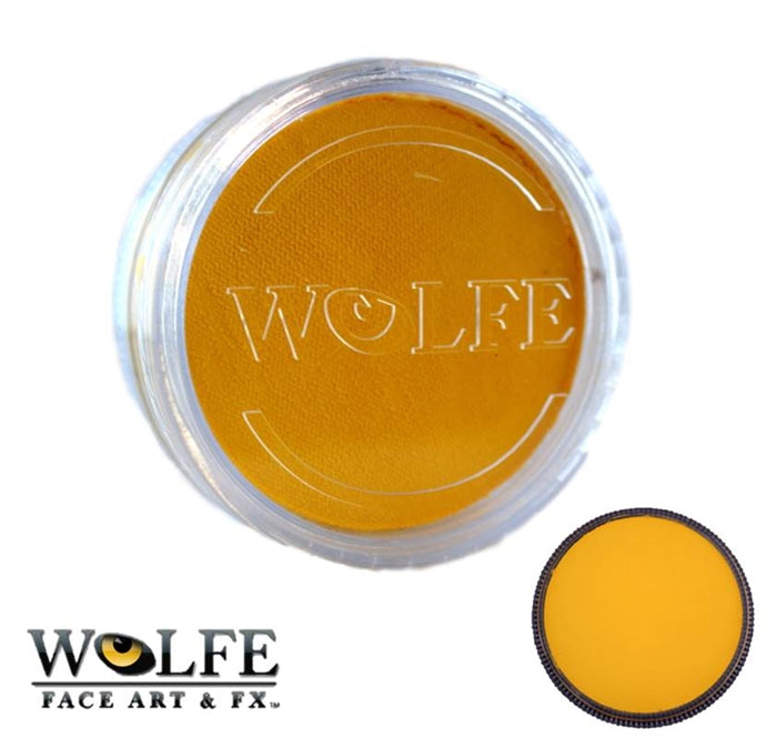 Wolfe FX Face Paint - Essential Yellow 45gr (050) - Jest Paint Store