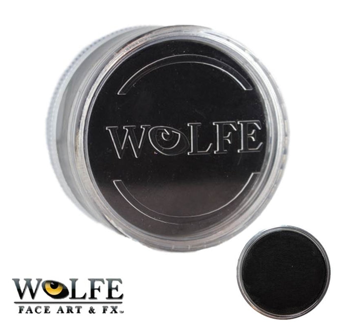 Wolfe FX Face Paint - Essential Black 90gr (010) - Jest Paint Store