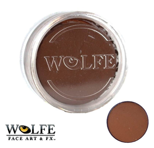 Wolfe FX Face Paint  - DISCONTINUED - Essential Saddle Brown (019) 90gr - Jest Paint Store