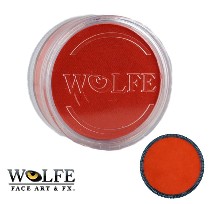 Wolfe FX Face Paint - Essential Orange 90gr (040) - Jest Paint Store