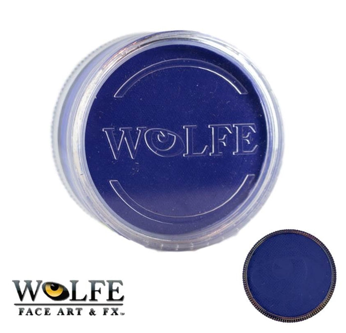 Wolfe FX Face Paint - Essential Blue 90gr (070) - Jest Paint Store
