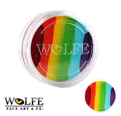 Wolfe FX Face Paint - Essential Rainbow Cake 45gr - Jest Paint Store