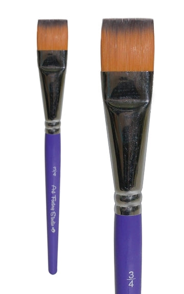 "Art Factory Studio Face Painting Brush - 3/4"" FLAT - Jest Paint Store"