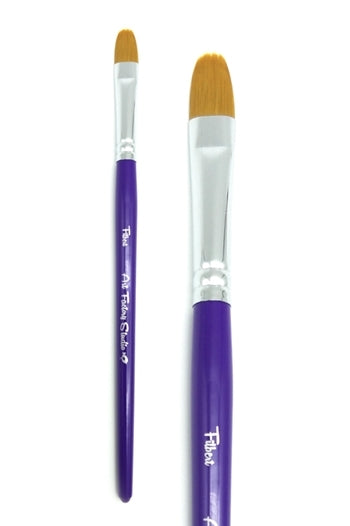 "Art Factory Studio Face Painting Brush - 2/5"" Filbert - Jest Paint Store"