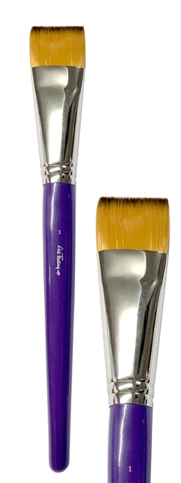 "Art Factory Studio Face Painting Brush - 1"" FLAT - Jest Paint Store"
