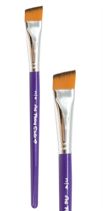 "Art Factory Studio Face Painting Brush - 3/4"" ANGLE - Jest Paint Store"