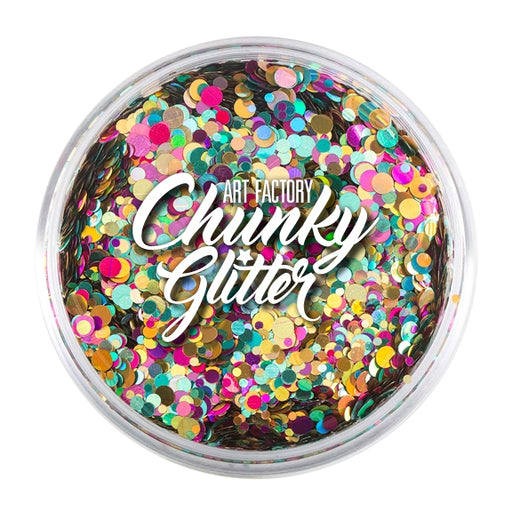 Art Factory | Loose Chunky Glitter - Unicorn Pop (1.5 oz jar) - Jest Paint Store