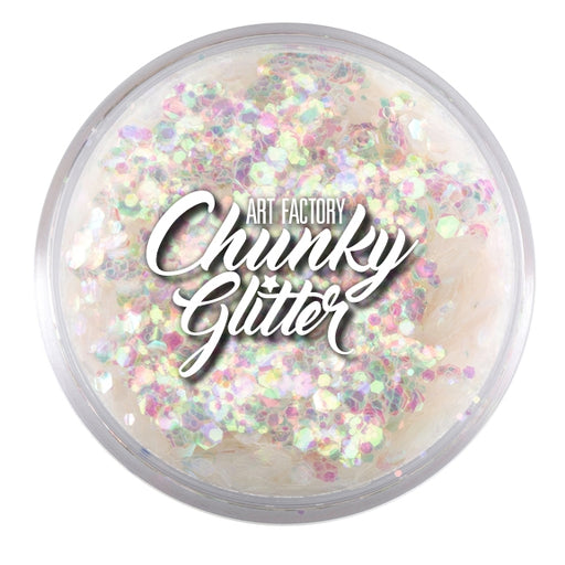 Art Factory | Loose Chunky Glitter - Snowflake (1.5 oz jar) - Jest Paint Store