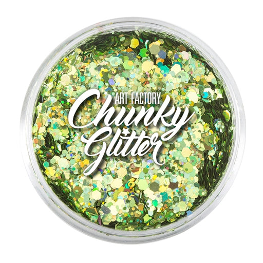 Art Factory | Loose Chunky Glitter - Envy (1.5 oz jar) - Jest Paint Store