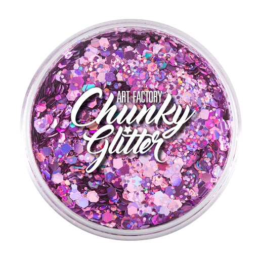 Art Factory | Loose Chunky Glitter - Bubblegum (1.5 oz jar) - Jest Paint Store