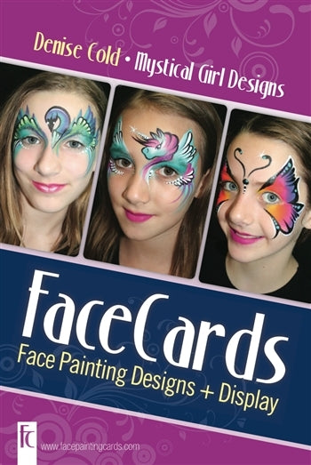 FaceCards  - Denise Cold - Mystical Girl Designs - Jest Paint Store