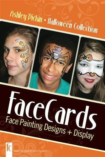 FaceCards  - Ashley Pickin - Halloween - Jest Paint Store