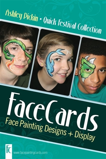 FaceCards  - Ashley Pickin - Quick Festivals - Jest Paint Store