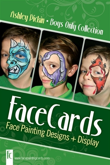 FaceCards  - Ashley Pickin - Boys Only Collection - Jest Paint Store