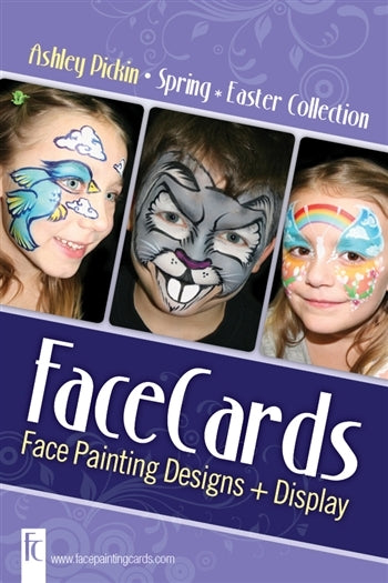 FaceCards  - Ashley Pickin - Spring/Easter Collection - Jest Paint Store