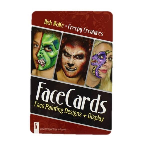 FaceCards  - Nick Wolfe - Creepy Creatures - Jest Paint Store
