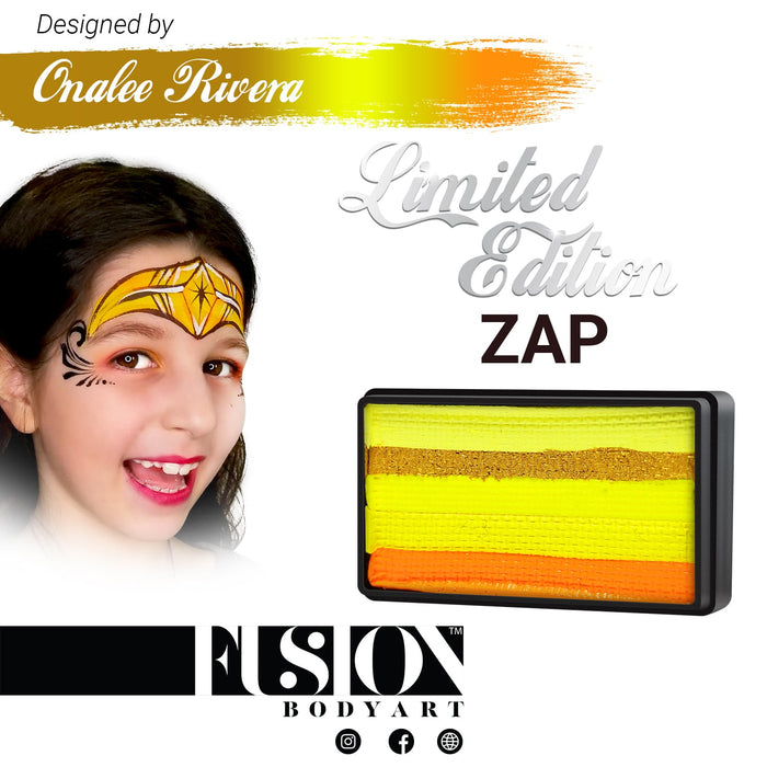 Fusion Body Art & FX - Split Cake | Onalee Rivera Hero Power Range - ZAP 30gr - Jest Paint Store