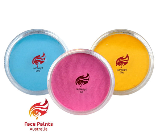 Face Paints Australia Bundle | Choose 3 or More Essential 32gr Cakes and Save - Jest Paint Store