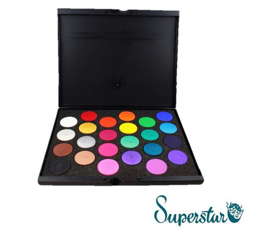 Superstar Face Paint Pro Palette | 24 Colors (Matte and Shimmer) - Jest Paint Store