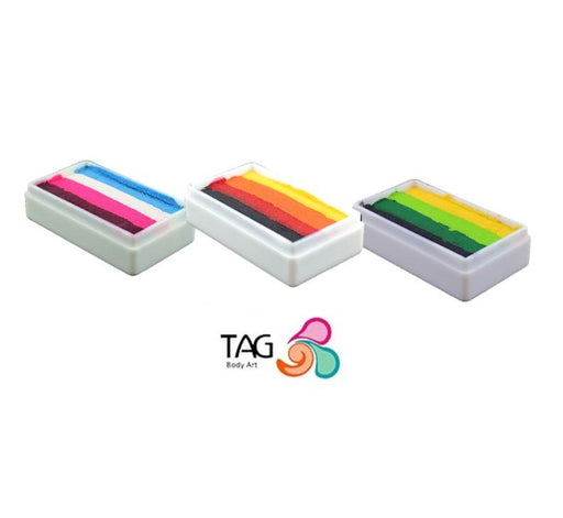 TAG Body Art Face Paint Bundle | Choose 3 or More 30gr Split Cakes and Save