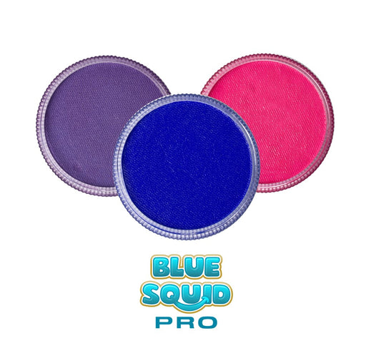Blue Squid Face Paint Bundle | Choose 3 or More Pro Classic 30gr Cakes and Save