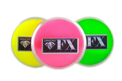 Diamond FX Face Paint Bundle | Choose 3 or More Neon 30gr Cakes and Save - Jest Paint Store