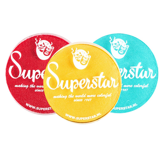 Superstar Face Paint Bundle | Choose 3 or More 45gr Regular Colors and Save