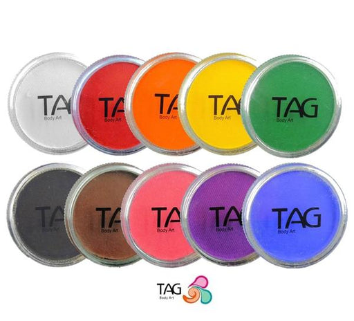 TAG Face Paint Set - 10 Regular Colors - Jest Paint Store