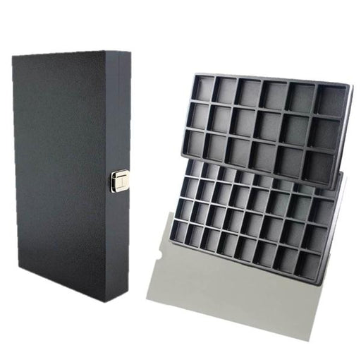 Wooden Case with 2 Inserts of your choice & Clear Divider