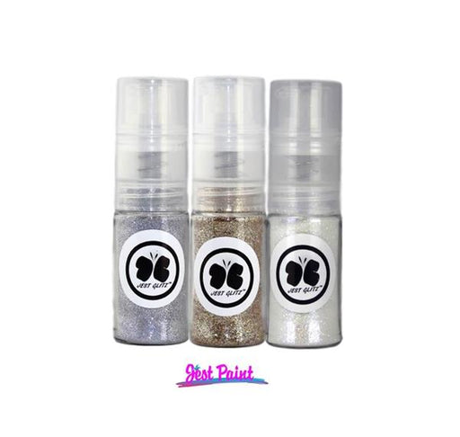 Jest Glitz | Face Paint Glitter - Set of 3 Fine Mist Glitter Pumps - Jest Paint Store