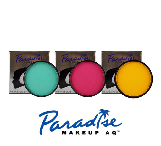 Paradise Makeup Face Paint Bundle | Choose 3 or More Matte 45gr Cakes and Save