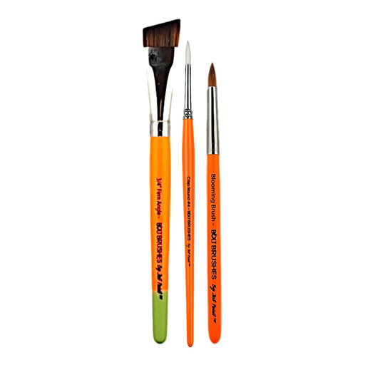 BOLT Brushes Bundle | Choose 3 or more Bolt Face Painting Brushes and Save - Jest Paint Store