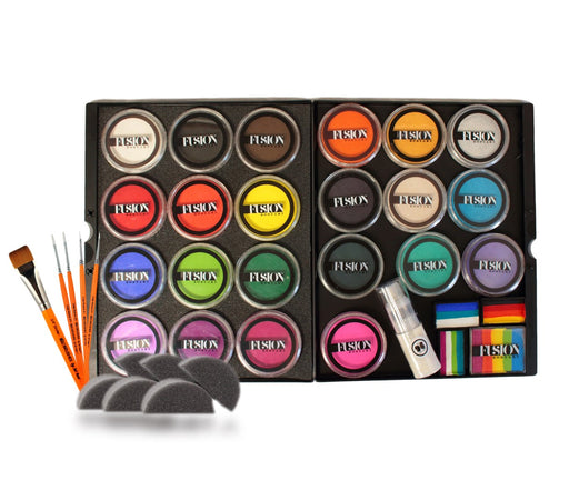 The Professional Face Painting Dream Kit - Featuring Fusion Body Art Face Paints - Jest Paint Store