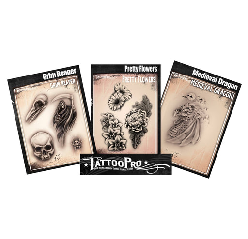 TATTOO PRO Stencil Bundle | Choose 2 or More Stencils and Save - Jest Paint Store