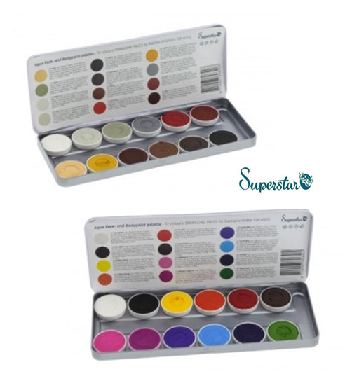 Superstar Face Paint Palettes Custom Bundle | Pick Two or More Palettes and Save - Jest Paint Store