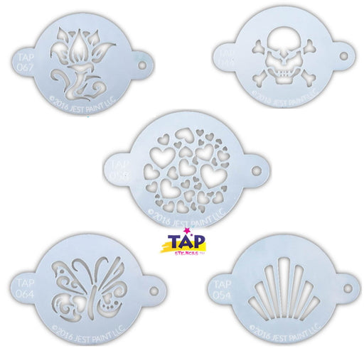 TAP Stencil Bundle | Choose 5 or More TAPS and Save - Jest Paint Store