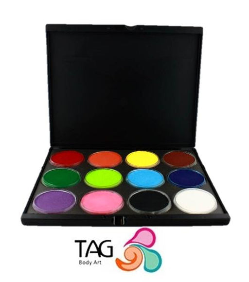 TAG Face Paint - Custom Build Pro Palette - 12 32gr Cakes - Jest Paint Store