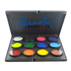 Paradise Face Paint By Mehron  - Custom Build Pro Palette - 12 45 gr cakes
