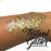 Festival Glitter - Chunky Glitter Gel - Gold Digger -   1.5 oz swatch