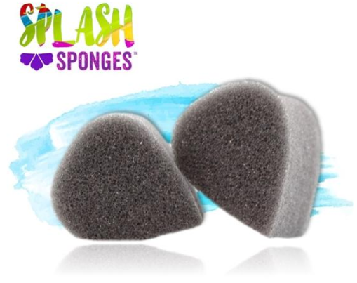 Splash Face Painting Sponge by Jest Paint - Tear Drop (2 pieces) - Jest Paint Store