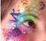 TAP 078 Face Painting Stencil - Candy Party - Jest Paint Store